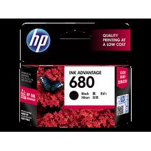 HP 680 Black Original Ink Advantage Cartridge (F6V27AA)