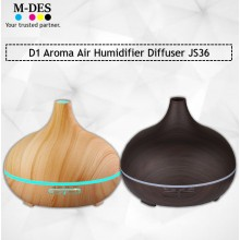 Liho D1 Aroma Humidifier Diffuser JS36 - Black / Brown