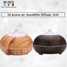 Liho D2 Aroma Humidifier Diffuser JS34 - Black / Brown
