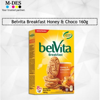 Belvita Breakfast Honey & Choco 160g