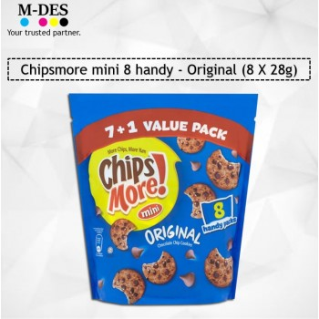 Chipsmore Mini 8 Handy Value Pack /Biscuits 8X28g (Original)