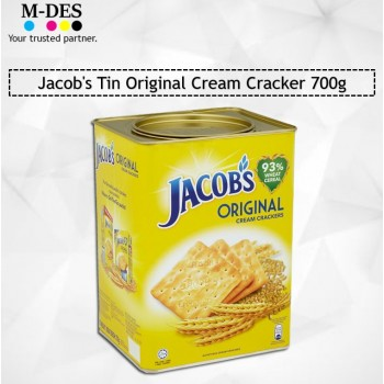 Jacob's Tin Original Cream Cracker 700g