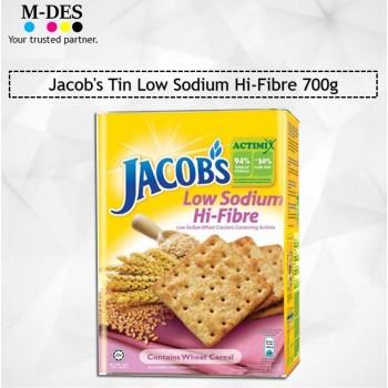Jacob's Tin Low Sodium Hi-Fibre 700g