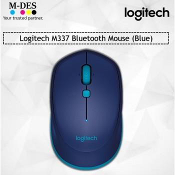 Logitech M337 Bluetooth Mouse (Blue)