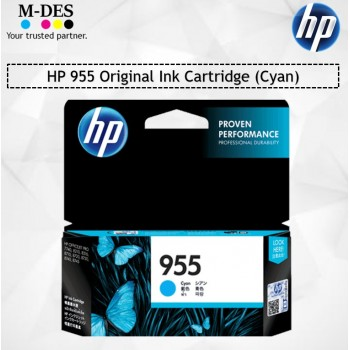 HP 955 Original Ink Cartridge (Cyan)