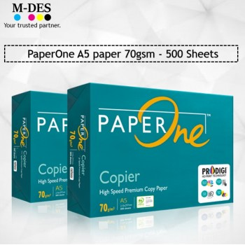Paper One A5 paper 70gsm 500 Sheets