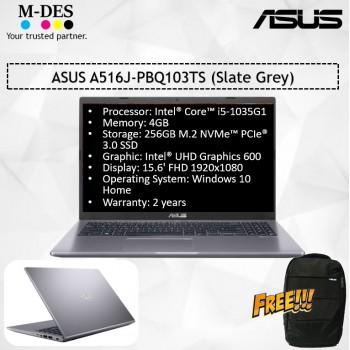 ASUS Notebook (A516J-PBQ103TS) - Slate Grey