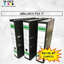 """[PACKAGE] ABBA Arch File 3"""" (24PCS)"""