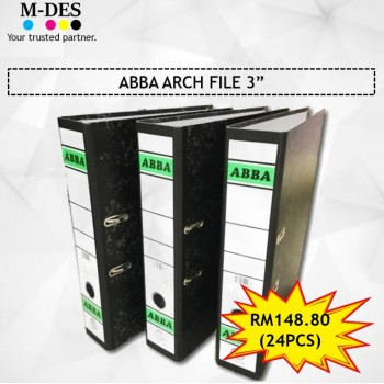 "[PACKAGE] ABBA Arch File 3"" (24PCS)"