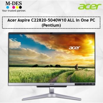 Acer Aspire C22820-5040W10 ALL in One PC (Pentium)