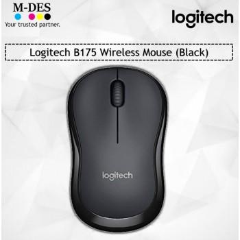 Logitech B175 Wireless Mouse (Black)