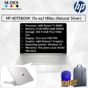 HP NOTEBOOK (15s-eq1180au) - Natural Silver