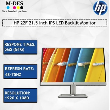HP 22F 21.5 Inch IPS LED Backlit Monitor