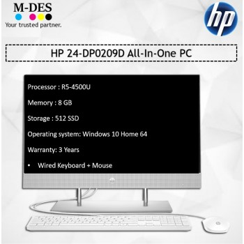 HP 24-DP0209D All-In-One PC