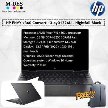 HP ENVY x360 Convert 13-ay0122AU - NightFall Black