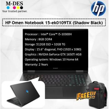 HP Omen Notebook 15-ek0109TX (Shadow Black)