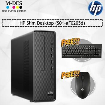 HP Slim Desktop (S01-aF0205d)