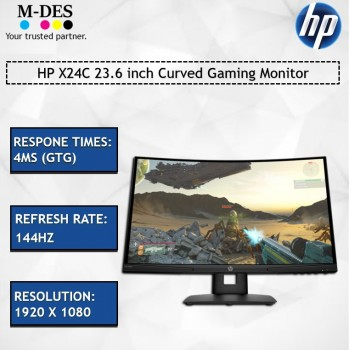 HP X24C 23.6 inch Curved Gaming Monitor