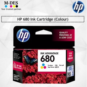 HP 680 Color Ink Cartridge (F6V26AA)
