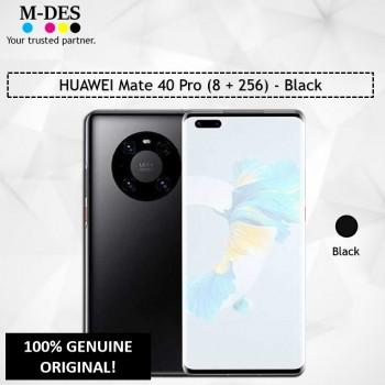 HUAWEI Mate 40 Pro Smartphone (8GB + 256GB) - Black