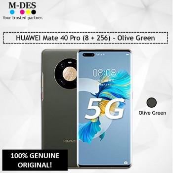 HUAWEI Mate 40 Pro Smartphone (8GB + 256GB) - Olive Green