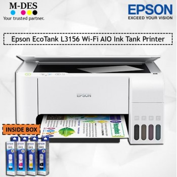 Epson EcoTank L3156 Wi-Fi AIO Ink Tank Printer