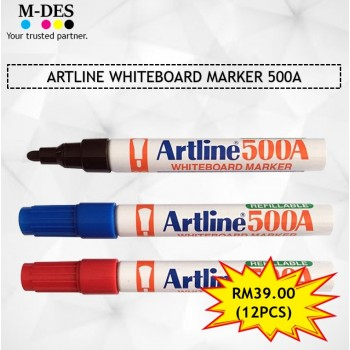 [PACKAGE] ARTLINE WHITEBOARD MARKER 500A (12PCS)