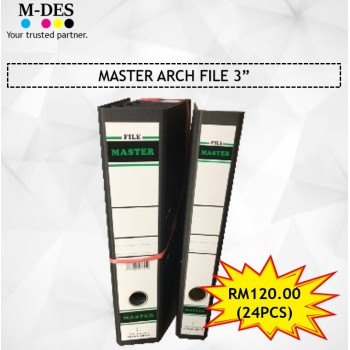 "[PACKAGE] MASTER Arch File 3"" (24PCS)"