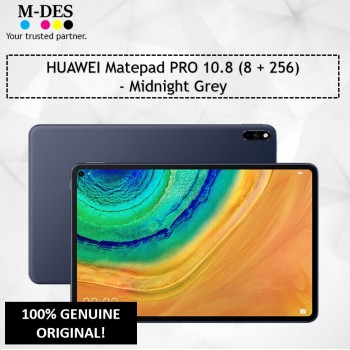 HUAWEI Matepad PRO 10.8 (8GB + 256GB)  - Midnight Grey