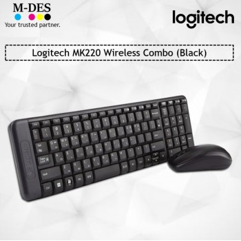 Logitech MK220 Wireless Combo (Black)