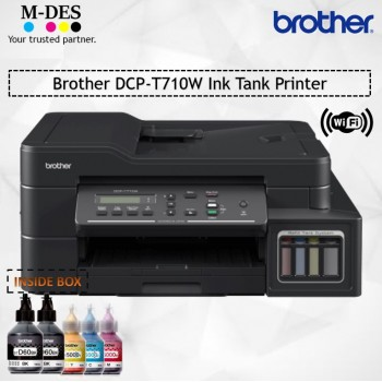 Brother DCP-T710W All-In-One Wifi Refill Ink Tank Printer