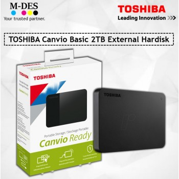 TOSHIBA Canvio Basic 2TB External Hardisk