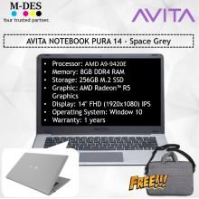 AVITA NOTEBOOK PURA 14 - Space Grey