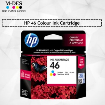 HP 46 Colour Ink Cartridge
