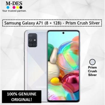 Samsung Galaxy A71 (8GB + 128GB) Smartphone - Prism Crush Silver