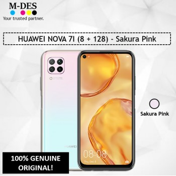 HUAWEI NOVA 7I (8GB + 128GB) Smartphone - Sakura Pink