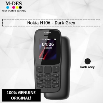 Nokia N106 Mobile (4MB) - Dark Grey