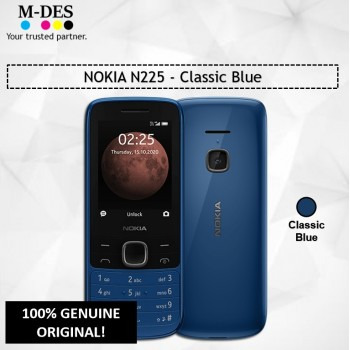 NOKIA N225 Mobile (64MB) - Classic Blue