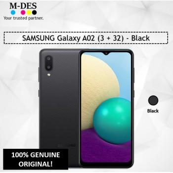 SAMSUNG Galaxy A02 (3GB + 32GB) Smartphone - Black