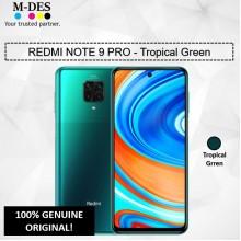 Redmi Note9 Pro (6GB + 128GB) Smartphone - Tropical Green
