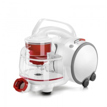 Puppyoo S9 Cyclone Vacuum Cleaner Horizontal Household High-Power High-Suction Multiple Filter