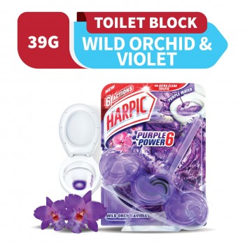 Harpic Fresh Power 6 39g Wild Orchid & Violet