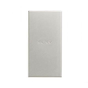 Sony TypeC USB Charger SC5 5000mah Silver PowerBank